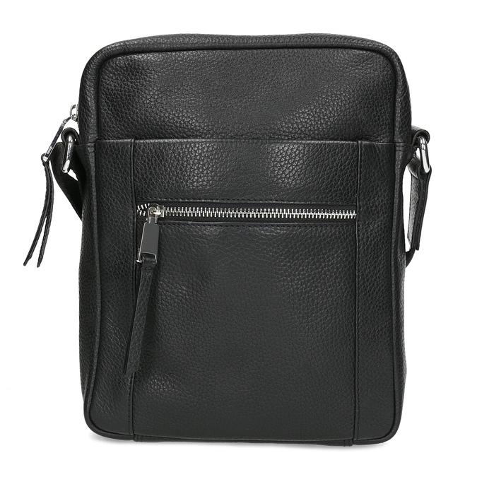 Pánská kožená Crossbody taška bata, černá, 964-6311 - 26