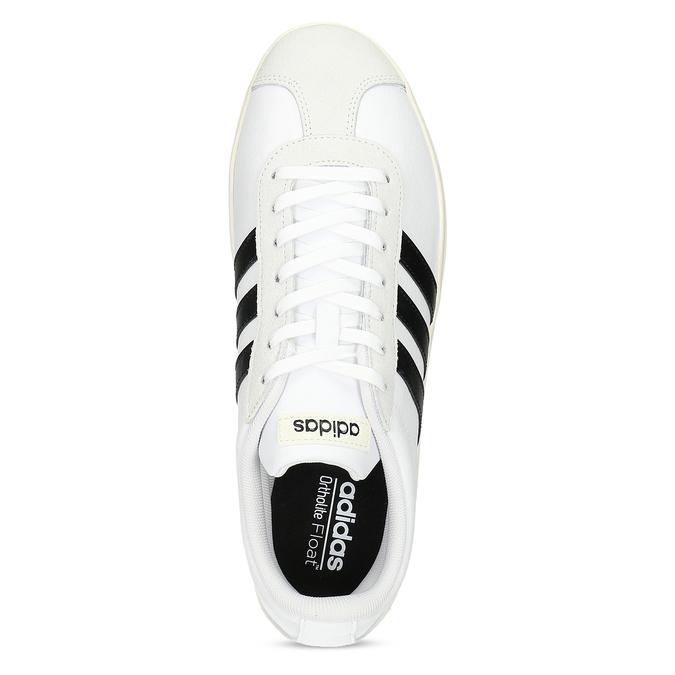 Bílé pánské ležérní tenisky adidas, bílá, 801-1146 - 17