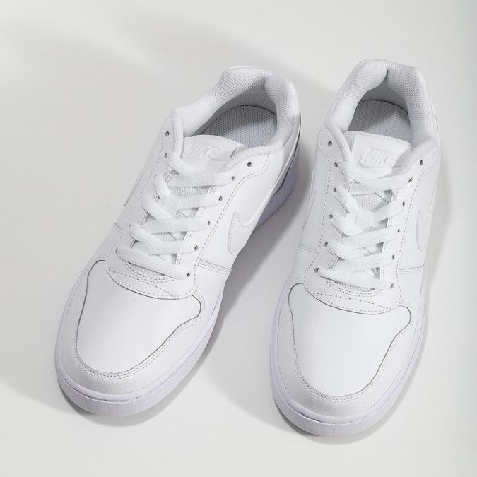 Bílé dámské tenisky s prošitím nike, bílá, 501-1130 - 16