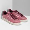 Růžové dámské ležérní tenisky adidas, červená, 501-5101 - 26