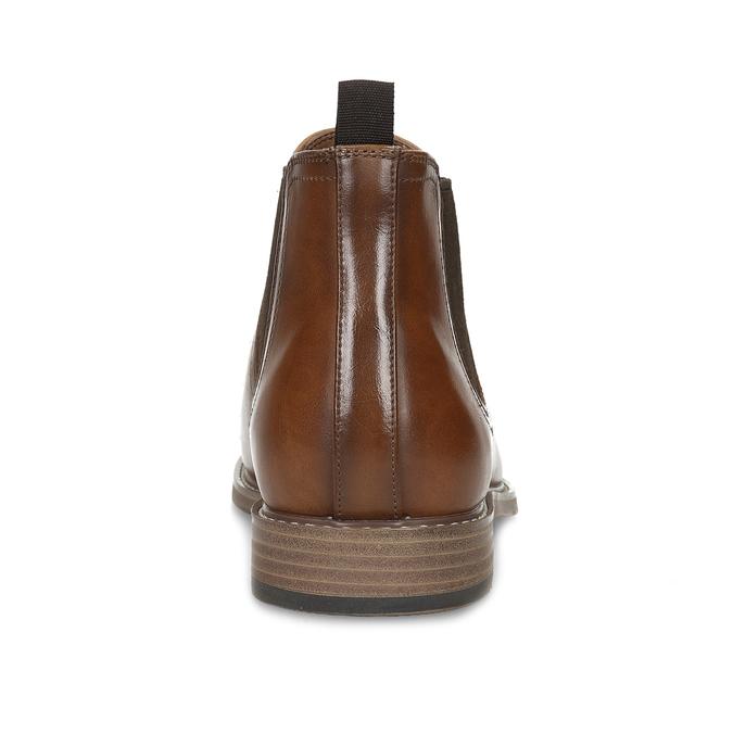 Pánská hnědá Chelsea obuv bata-red-label, hnědá, 821-3611 - 15