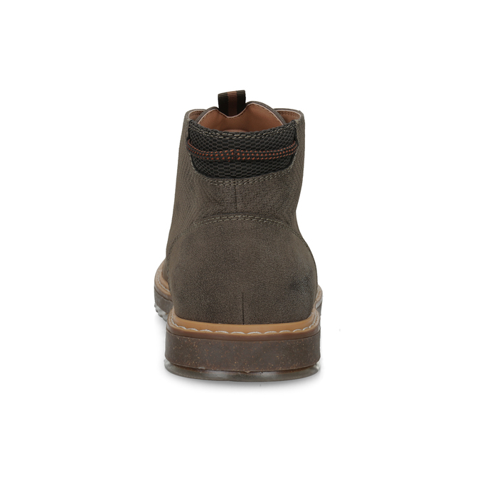 Kotníčková pánská obuv s prošitím bata-red-label, hnědá, 821-4605 - 15