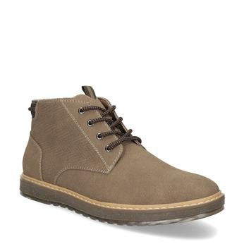 Zimní kotníčková pánská obuv bata-red-label, hnědá, 821-3605 - 13