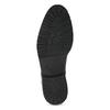 Pánská kotníčková obuv černá lesklá bata, černá, 896-6720 - 18