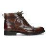 Pánská kotníková obuv hnědá lesklá bata, hnědá, 896-3720 - 19