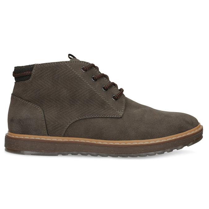 Kotníčková pánská obuv s prošitím bata-red-label, hnědá, 821-4605 - 19