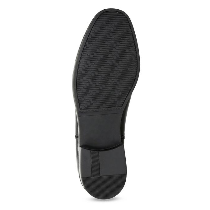 Dámská kožená Chelsea obuv s kamínky bata, černá, 594-6682 - 18