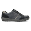 Kožené pánské tenisky šedé bata, modrá, 846-9714 - 19