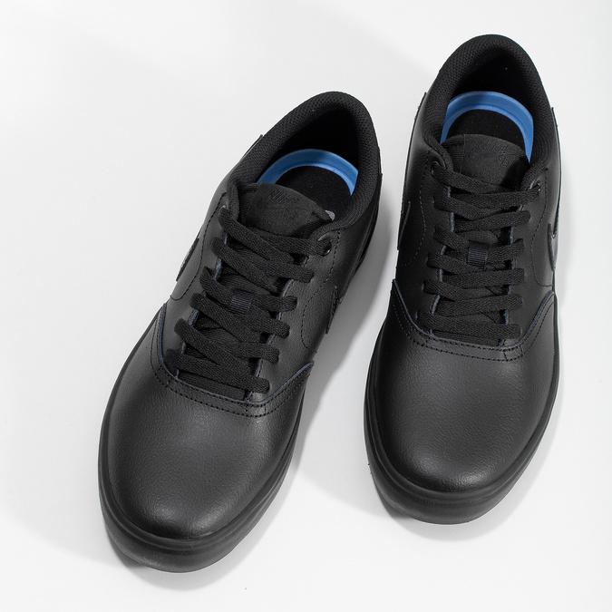 Černé pánské ležérní tenisky nike, černá, 801-6244 - 16