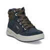Kožená kotníčková obuv chlapecká mini-b, modrá, 493-9618 - 13