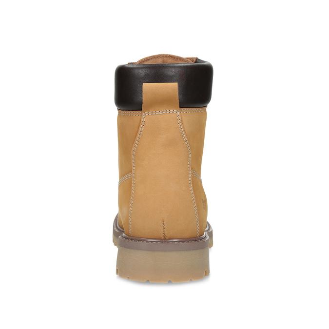 Pánská kotníčková obuv se šněrováním weinbrenner, béžová, 896-8733 - 15