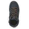 Kožená kotníčková obuv chlapecká mini-b, modrá, 493-9618 - 17