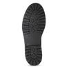 Kožená pánská kotníková obuv bata, černá, 896-6740 - 18