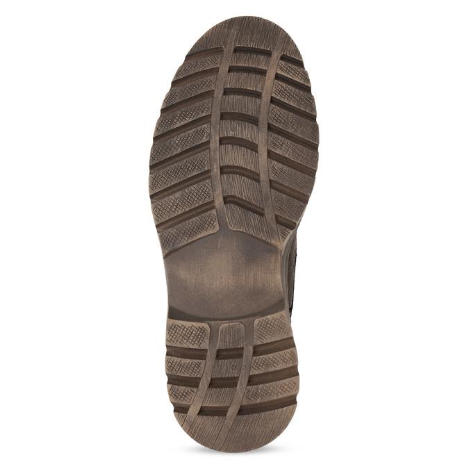 Pánská kožená kotníčková obuv weinbrenner, hnědá, 896-4108 - 18