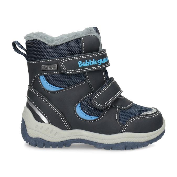 Dětské zimní boty s kožíškem bubblegummers, modrá, 199-9602 - 19