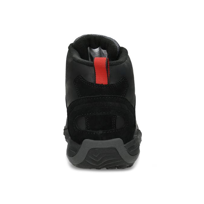 Kožená pánská kotníčková obuv outdoorová merrell, černá, 806-6102 - 15