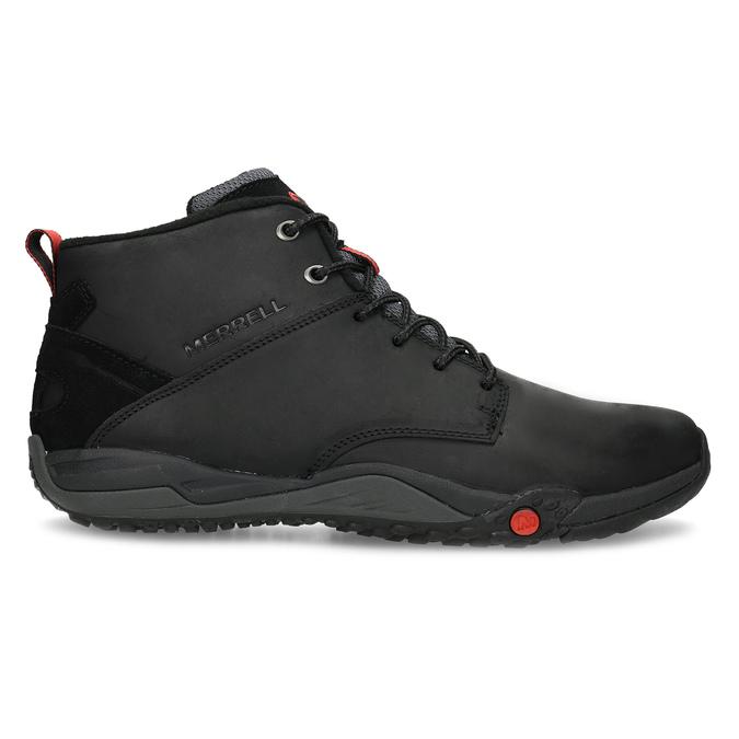 Kožená pánská kotníčková obuv outdoorová merrell, černá, 806-6102 - 19