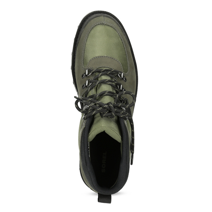 Pánská kotníková obuv se šněrováním sorel, zelená, 826-7003 - 17