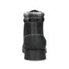 Černá dámská kožená kotníčková obuv weinbrenner, černá, 596-6729 - 15