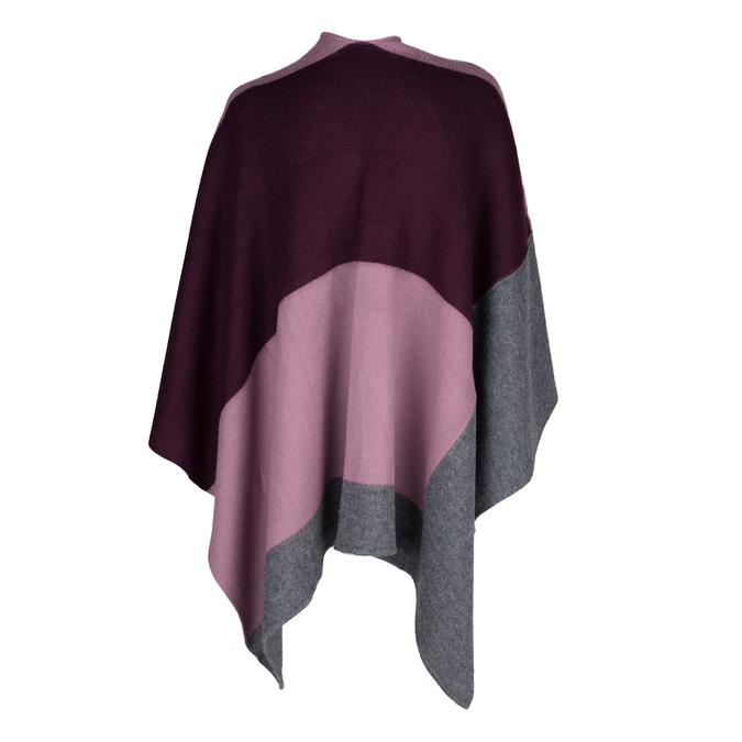 Dámské textilní pončo bata, vícebarevné, 909-0647 - 26