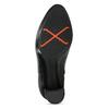 Černé kotníčkové kozačky na stabilním podpatku bata-b-flex, černá, 791-6615 - 18