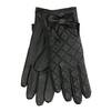 Dámské kožené rukavice prošívané bata, černá, 904-6139 - 13