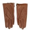Dámské kožené rukavičky prošívané hnědé bata, hnědá, 904-3108 - 16