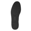 Kožené černé kozačky se třpytivými částmi bata, černá, 596-6712 - 18