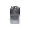 Pánské kotníčkové tenisky kožené šedé adidas, šedá, 803-2118 - 15