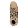 Zimní pánské kotníčkové tenisky adidas, hnědá, 801-8104 - 17
