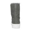 Dámská zimní kožená obuv šedá bata, šedá, 593-2613 - 15