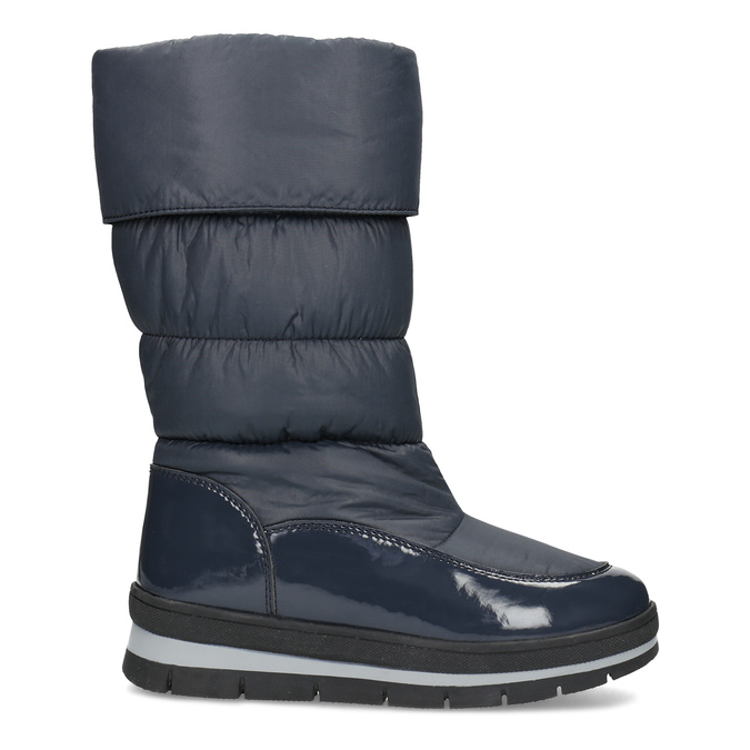 Dámské sněhule tmavě modré bata, modrá, 599-9622 - 19