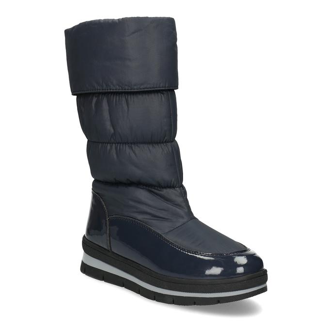 Dámské sněhule tmavě modré bata, modrá, 599-9622 - 13