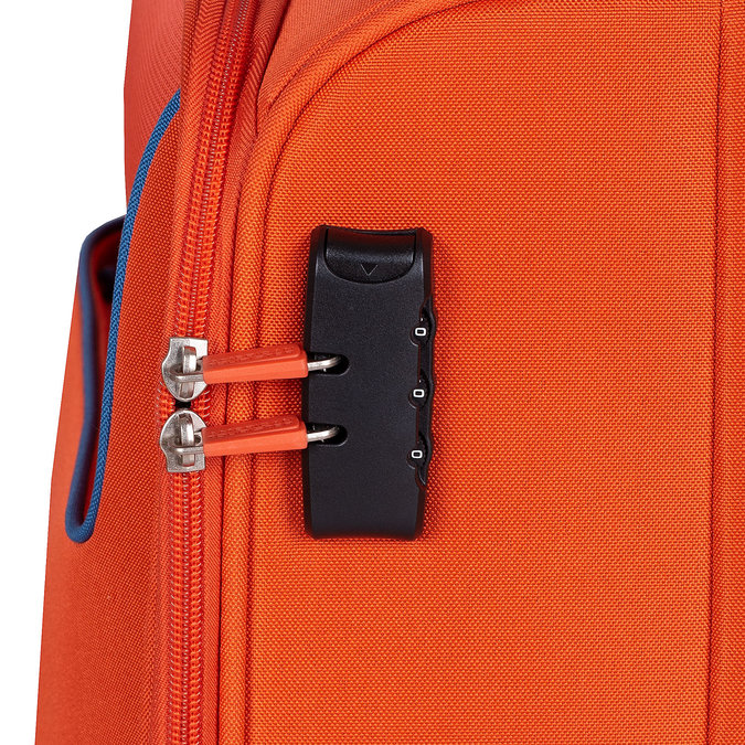 Oranžový textilní cestovní kufr american-tourister, oranžová, 969-8172 - 15