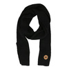 Černá šála s hnědým detailem weinbrenner, černá, 909-6729 - 26