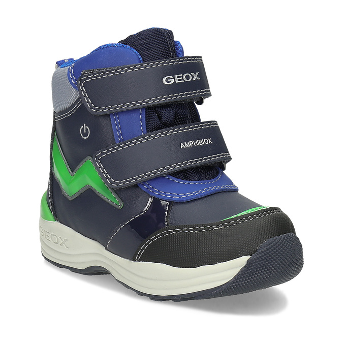 Geox Chlapecké dětské sněhule modré - Zimní obuv  b02bc96a8b