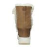 Dámské kožené sněhule s kožíškem weinbrenner, hnědá, 593-8602 - 15