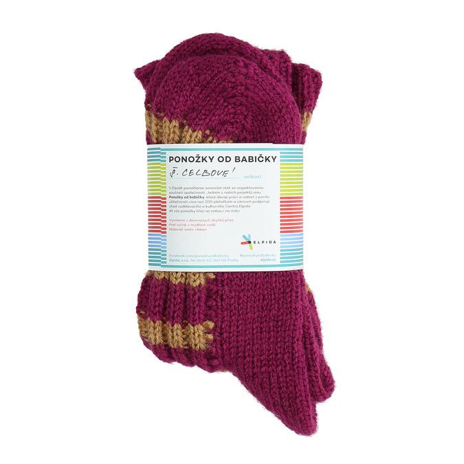 Ponožky od babičky L/XL bata, vícebarevné, 919-0755 - 16