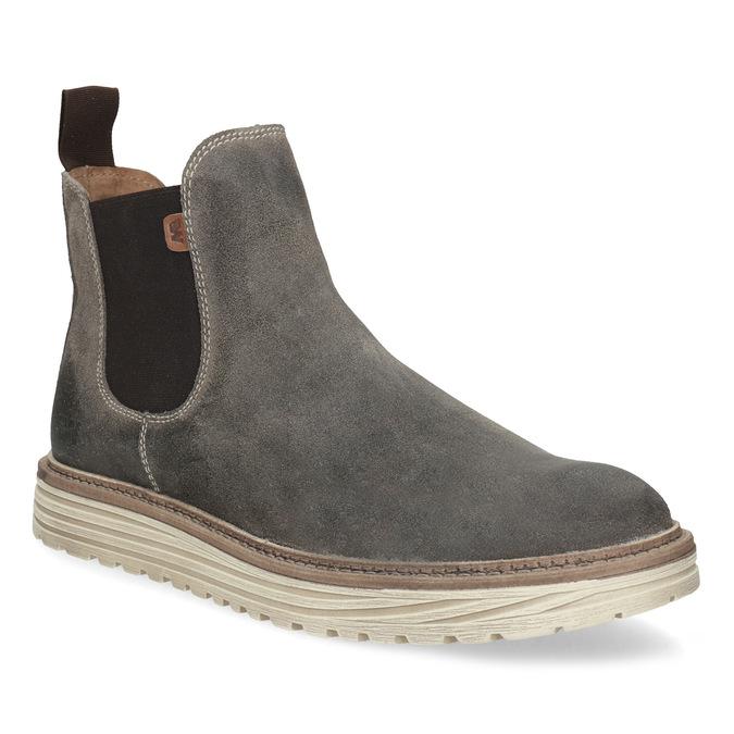 Weinbrenner Pánské Chelsea z broušené kůže - Zimní obuv  f35577a597