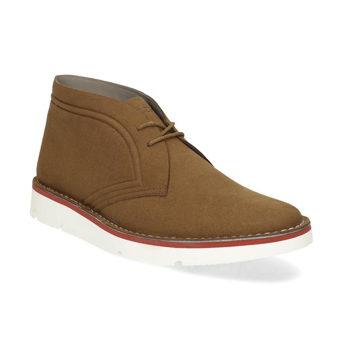 Ležérní hnědá pánská Desert Boots obuv bata-b-flex, hnědá, 899-3600 - 13