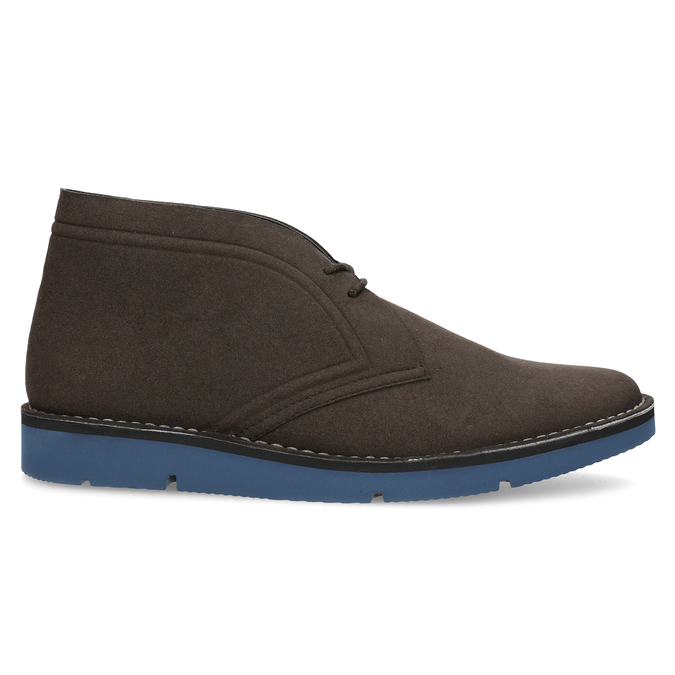Hnědá pánská kotníčková obuv bata-b-flex, hnědá, 899-4600 - 19