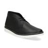 Černá pánská kotníčková obuv bata-b-flex, černá, 899-6601 - 13