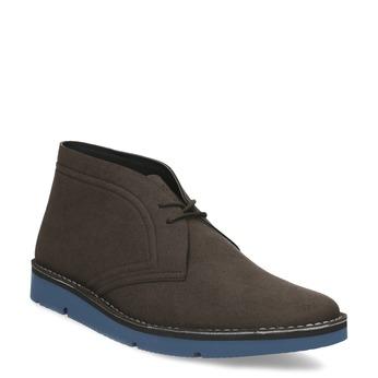 Hnědá pánská kotníčková obuv bata-b-flex, hnědá, 899-4600 - 13
