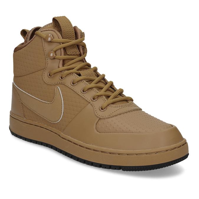 5cd4f759e95 Nike Kožené hnědé pánské kotníčkové tenisky - Všechny boty