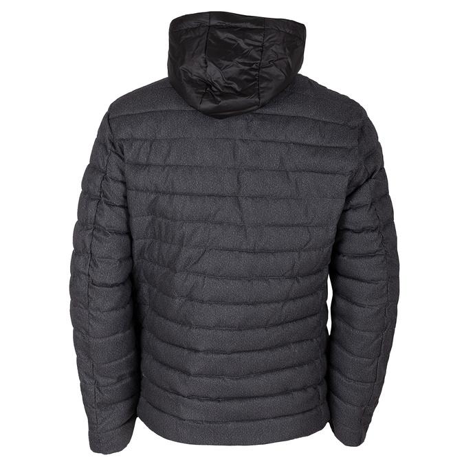 Šedá pánská bunda s kapucí a kapsami bata, šedá, 979-2402 - 26