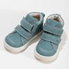 Dětské modré tenisky z broušené kůže bubblegummers, modrá, 116-9634 - 16