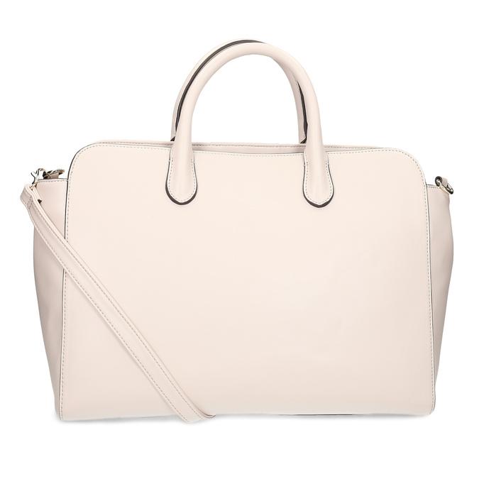 Růžová dámská kabelka s prošitím bata-red-label, růžová, 961-5950 - 16