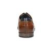 Pánské hnědé polobotky s perforací bata, hnědá, 826-3881 - 15