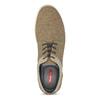 Béžové pánské tenisky s rovnou podešví bata-red-label, hnědá, 841-3609 - 17