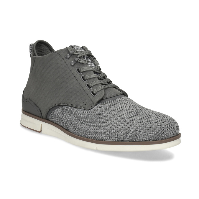Šedá pánská kotníčková obuv bata-red-label, šedá, 821-2607 - 13